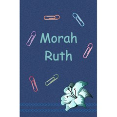Morah Ruth By Chani Tzfasman   5 5  X 8 5  Notebook   R0mwi9iarbf1   Www Artscow Com Front Cover