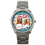 my girl - Sport Metal Watch
