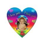 allaboutlove heart magnet - Magnet (Heart)