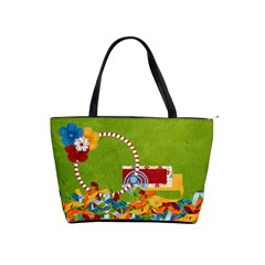 Celebrate May Shoulder Bag 1 By Lisa Minor   Classic Shoulder Handbag   Fdpzr8zyy2oj   Www Artscow Com Front