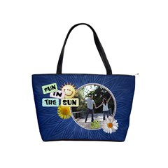 Fun In The Sun Classic Shoulder Handbag By Lil    Classic Shoulder Handbag   Grlsc2h0kss0   Www Artscow Com Front