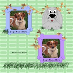 Puppy Dog Scrapbook Pages 8x8 By Chere s Creations   Scrapbook Page 8  X 8    Rjay711tiuc6   Www Artscow Com 8 x8 Scrapbook Page - 2