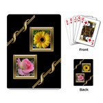 Black and Gold playing cards - Playing Cards Single Design