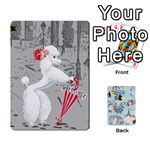 Poodle Trading Cards Playing Cards 54 Designs