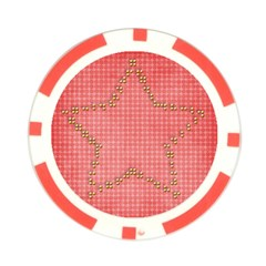 Star  Poker Chip By Mikki   Poker Chip Card Guard   D1vlfo3gqy25   Www Artscow Com Front