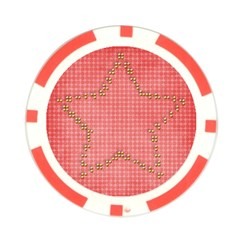 Star  Poker Chip By Mikki   Poker Chip Card Guard   D1vlfo3gqy25   Www Artscow Com Back