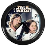 star wars - Wall Clock (Black)