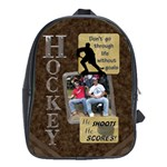 Hockey Large School Bag - School Bag (Large)