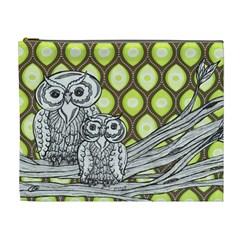 Groovy Owls Cosmetic Bag (XL)