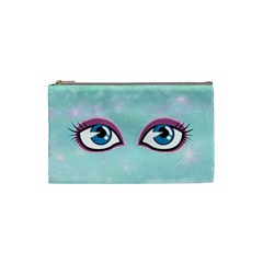 Making Eyes At You By Em Rally   Cosmetic Bag (small)   47jzg4xvk7sn   Www Artscow Com Front