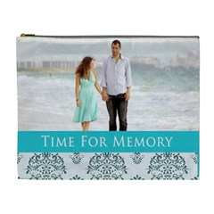 Time For Memory By Wood Johnson   Cosmetic Bag (xl)   2lef2zw0todf   Www Artscow Com Front