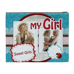 My Girl By Joely   Cosmetic Bag (xl)   Sey44uxpbher   Www Artscow Com Back