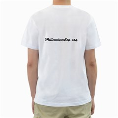 Mrc Logo T With Logo 3 By Noel Clements   Men s T Shirt (white) (two Sided)   9jd6p2i7ba3b   Www Artscow Com Back