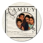 family2 - Magnet 5  (Round)