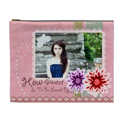 Sweet Girl By Joely   Cosmetic Bag (xl)   51r2udlibvyp   Www Artscow Com Front