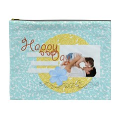 Happy Time By Joely   Cosmetic Bag (xl)   Jd8gpm2str79   Www Artscow Com Front