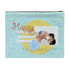 Happy Time By Joely   Cosmetic Bag (xl)   Jd8gpm2str79   Www Artscow Com Back