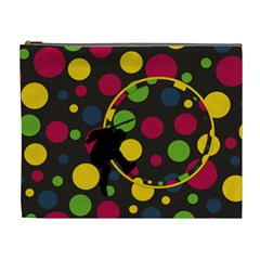 Clash Xl Cosmetic Bag 1 By Lisa Minor   Cosmetic Bag (xl)   429pplm23qvu   Www Artscow Com Front