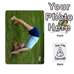 Yoga Cards Text By Deanna   Playing Cards 54 Designs   0p47fhcwmxrj   Www Artscow Com Front - Spade9