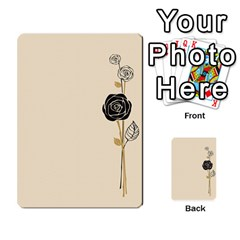 Cards With A Rose By Elena Petrova   Multi Purpose Cards (rectangle)   Qdurudfr4ab4   Www Artscow Com Front 25