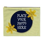 Yellow Lily XL Cosmetic Bag - Cosmetic Bag (XL)