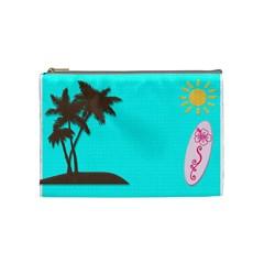 Medium Bag By Rachael   Cosmetic Bag (medium)   2583sfwrafm5   Www Artscow Com Front