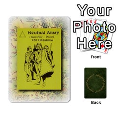 Riddle Of The Ring By Gordon Watson   Playing Cards 54 Designs   Mwvf54047kl0   Www Artscow Com Front - Club3