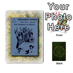 Riddle Of The Ring By Gordon Watson   Playing Cards 54 Designs   Mwvf54047kl0   Www Artscow Com Front - Club5