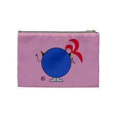 Masquerade Cosmetics Bag (medium) By Giggles Corp   Cosmetic Bag (medium)   4qp2t47n315h   Www Artscow Com Back