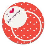 Love Mommy 5  magnet - Magnet 5  (Round)
