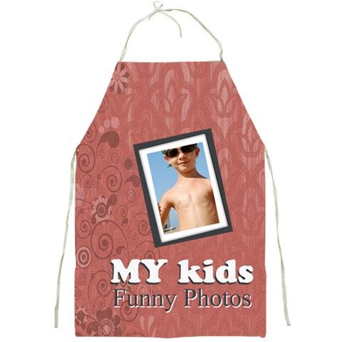 My Kids By Joely   Full Print Apron   Orcd84n9xekl   Www Artscow Com Front
