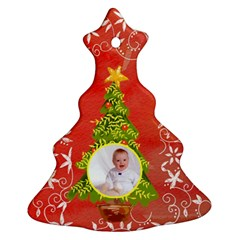 Merry Christmas 2011 Tree Ornament Double Sided By Catvinnat   Christmas Tree Ornament (two Sides)   Jk5y5zgag3x2   Www Artscow Com Back