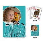 Floral Cards - Playing Cards Single Design
