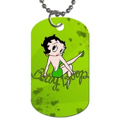 Betty Boop Dog Tag By Krystal   Dog Tag (two Sides)   Wltwwjkhjie1   Www Artscow Com Back