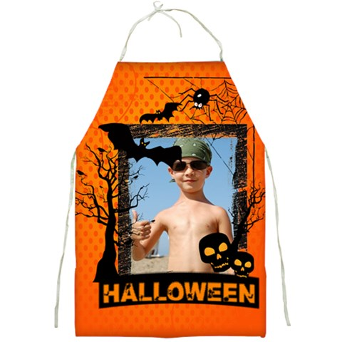 Halloween By Joely   Full Print Apron   Hg93i15hfpav   Www Artscow Com Front