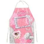 Spring flower floral pink apron - Full Print Apron