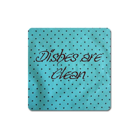 Dishwasher Magnet By Kaydi Barkley   Magnet (square)   Bltetmp3qkox   Www Artscow Com Front