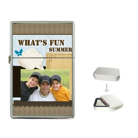 Summer By Joely   Flip Top Lighter   V0i4striqazb   Www Artscow Com Front
