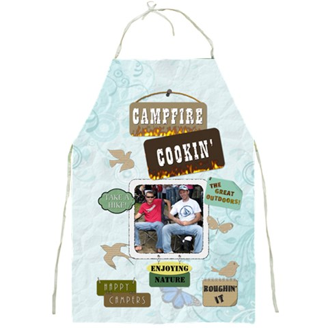 Campfire Cookin  Full Apron By Lil    Full Print Apron   Am0c321cuksk   Www Artscow Com Front