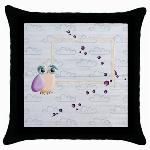 Sweet Dreams Pillow Case By Elena Petrova   Throw Pillow Case (black)   1g49s7ur3u5g   Www Artscow Com Front