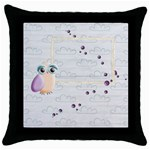 sweet dreams pillow case - Throw Pillow Case (Black)