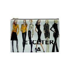 Etc Cosmetic Bag Fall 2011 Group 2 And 4 By Lori Cronican   Cosmetic Bag (medium)   Dcfwv38ouomv   Www Artscow Com Front