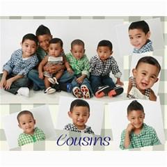 Cousins By Melaine   Collage 8  X 10    Mlr6nebqp6jp   Www Artscow Com 10 x8 Print - 1
