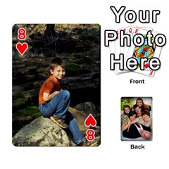 Family Card Deck By Henri Lynn Bryan   Playing Cards 54 Designs   L6npj8dgdic8   Www Artscow Com Front - Heart8