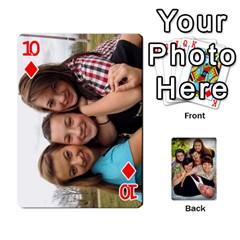 Family Card Deck By Henri Lynn Bryan   Playing Cards 54 Designs   L6npj8dgdic8   Www Artscow Com Front - Diamond10