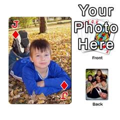 Jack Family Card Deck By Henri Lynn Bryan   Playing Cards 54 Designs   L6npj8dgdic8   Www Artscow Com Front - DiamondJ