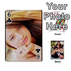 Family Card Deck By Henri Lynn Bryan   Playing Cards 54 Designs   L6npj8dgdic8   Www Artscow Com Front - Club6