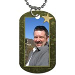 Military Love (2 sided) dog tag - Dog Tag (Two Sides)