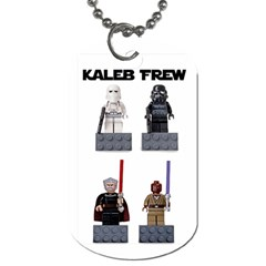 Kaleb s Dog Tag By Niki Frew   Dog Tag (two Sides)   85p7o0dio5oq   Www Artscow Com Front