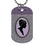 Cameo Locket 2 Sided Dog Tag - Dog Tag (Two Sides)
